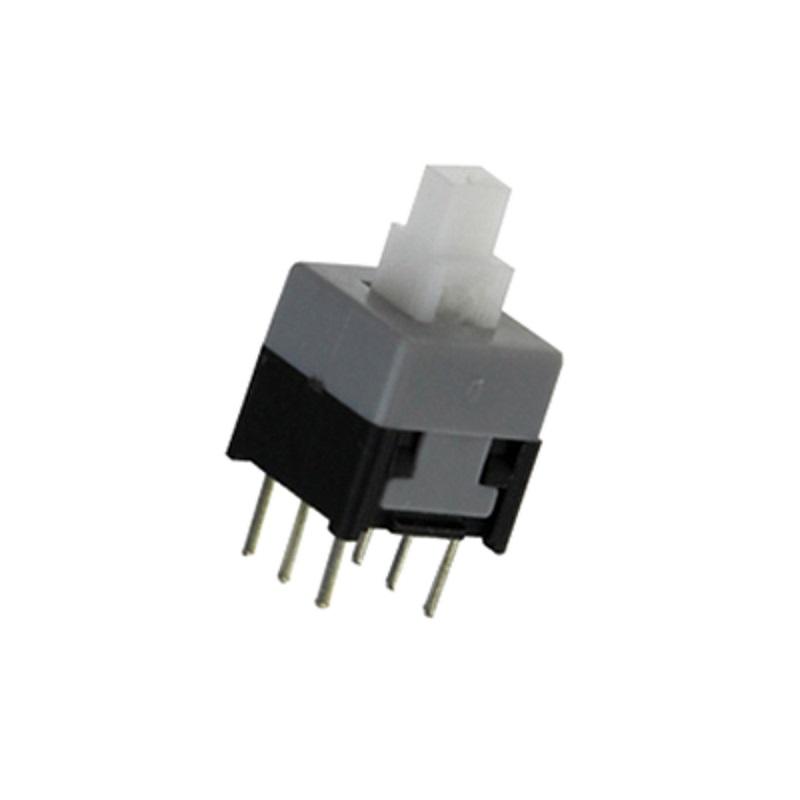 Кнопка 8.5х8.5 с фиксацией (PS850L, PB22E09, KLS7-P8.5x8.5-1)