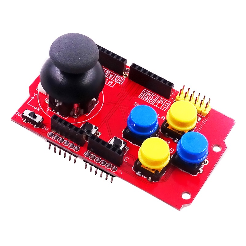 Joystick Shield модуль джойстика с кнопками