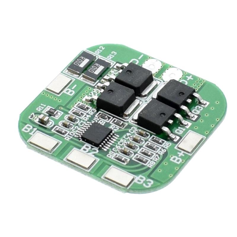Балансировочная плата 4-х аккумуляторов 18650 (BMS-4S-14.8V-16.8V-20A)