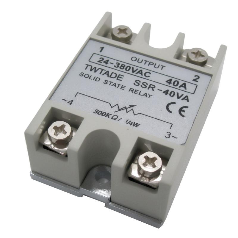 Твердотельное реле SSR-40VA TWTADE (FOTEK compatible)
