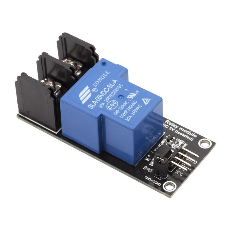 RobotDyn модуль реле 1 канал 5V 220V-30A