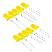 Набор светодиодов желтых (3 мм, 10шт)