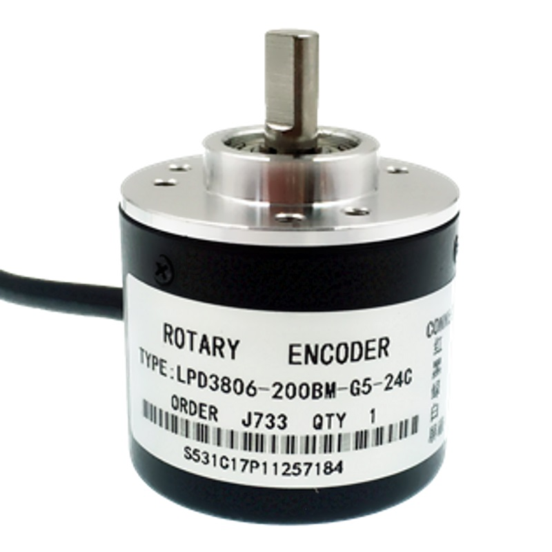 Энкодер на 200 шагов (Encoder-200, LPD3806-200BM-G5- 24C)  Rotary Encoders