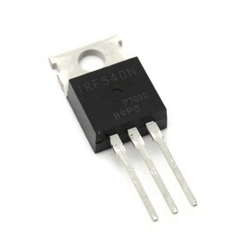 Транзистор IRF540N (MOSFET, 100V, 33A, TO-220)