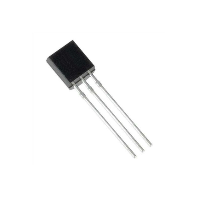 Транзистор 2N7000 (MOSFET, 60V, 0.4А, TO-92)