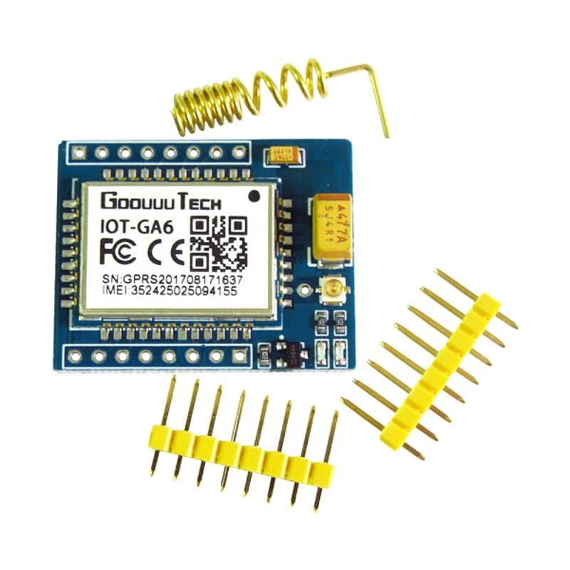 A6 mini модуль GSM-GPRS IOT-GA6 GOOUUU TECH