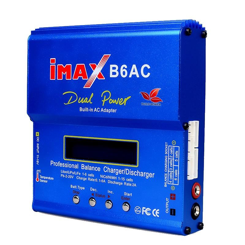 iMAX B6AC 80W 220V универсальное зарядное устройство (Li-ion, Li-Po, Li-Fe, Ni-Mh) HTRC