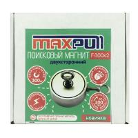 Двухсторонний поисковый неодимовый магнит F-300х2 MaxPull