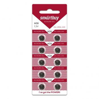 Батарейки литиевые AG9 (394, LR936, LR45) SmartBuy 10 шт