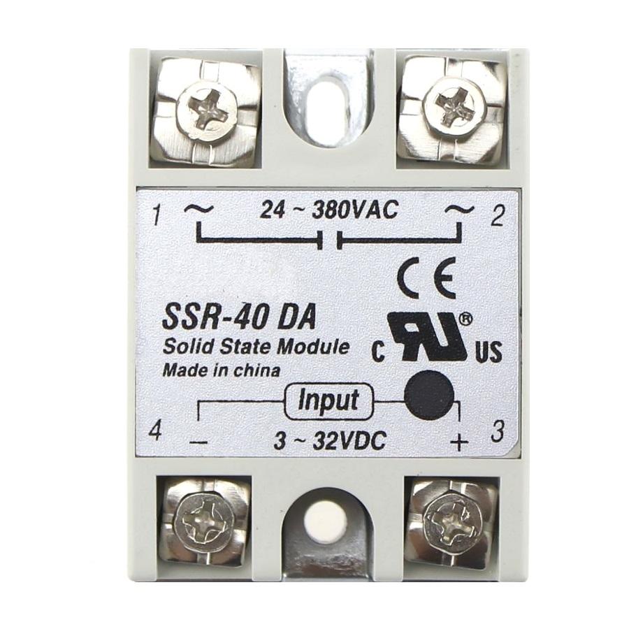 Твердотельное реле SSR-40DA TZT (FOTEK compatible)